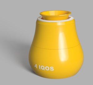 ashtray iqos 3D model