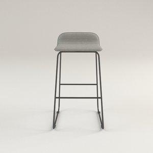 3D lolli bar stool 29