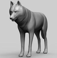Wolf Base Mesh