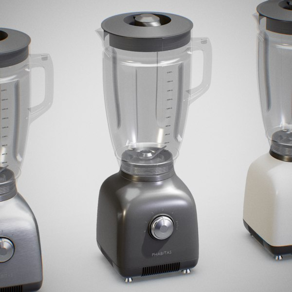 3D blender mixer - pbr model