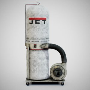 3D sawdust collector -