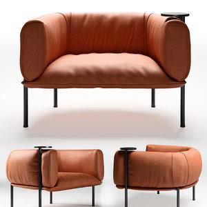 seat molinari rondo swivel 3D model