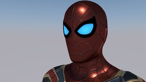 3D iron spider model
