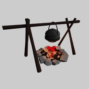 3D model pit