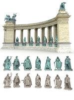 triumphal arch seven kings 3D model