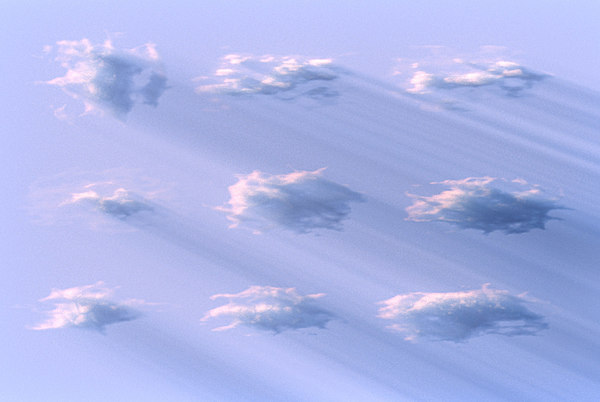 3D clouds pack 9 model