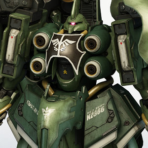 3D model nz-666 kshatriya