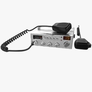 3D channel cb radio v2 model