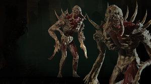monster mutant 3D model