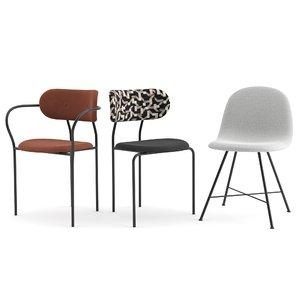 gubi chair 3D