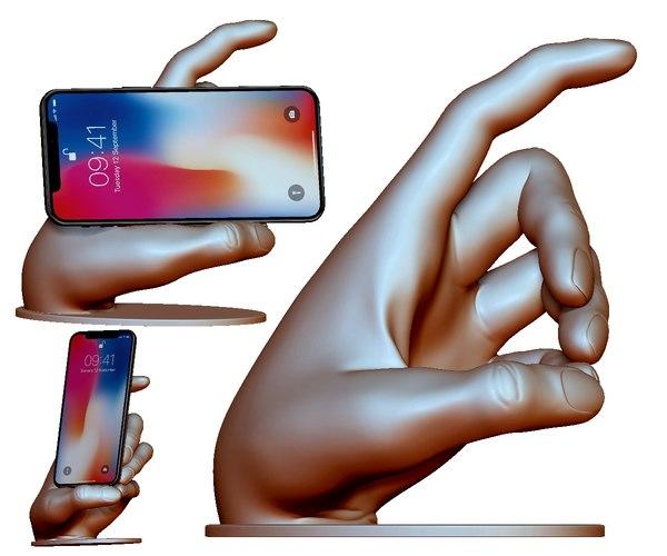 phone holder 3dprintable types 3D