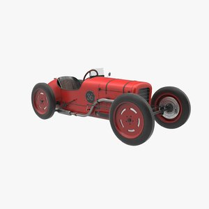 race car hercules pbr 3D