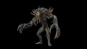 3D character reaper model