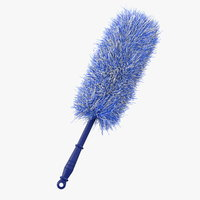 feather duster blue fur model