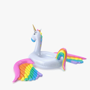 3D unicorn color pool float