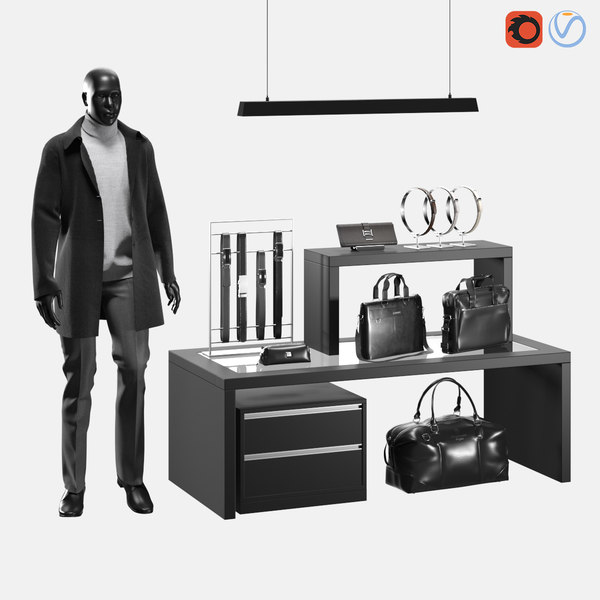 3D accessories s boutique model