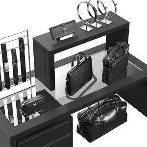 3D accessories s boutique model
