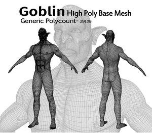 goblin animation model