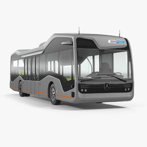 3D mercedes future bus