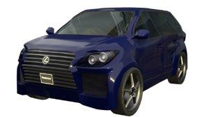 lexsus lx 570 3D model