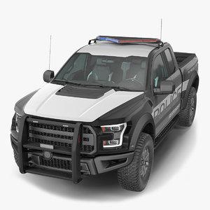 police pickup truck generic model
