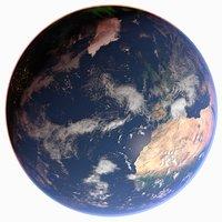 3D 43k earth aurora
