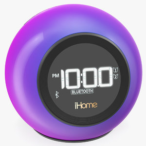 3D ihome ibt29 wireless bluetooth model