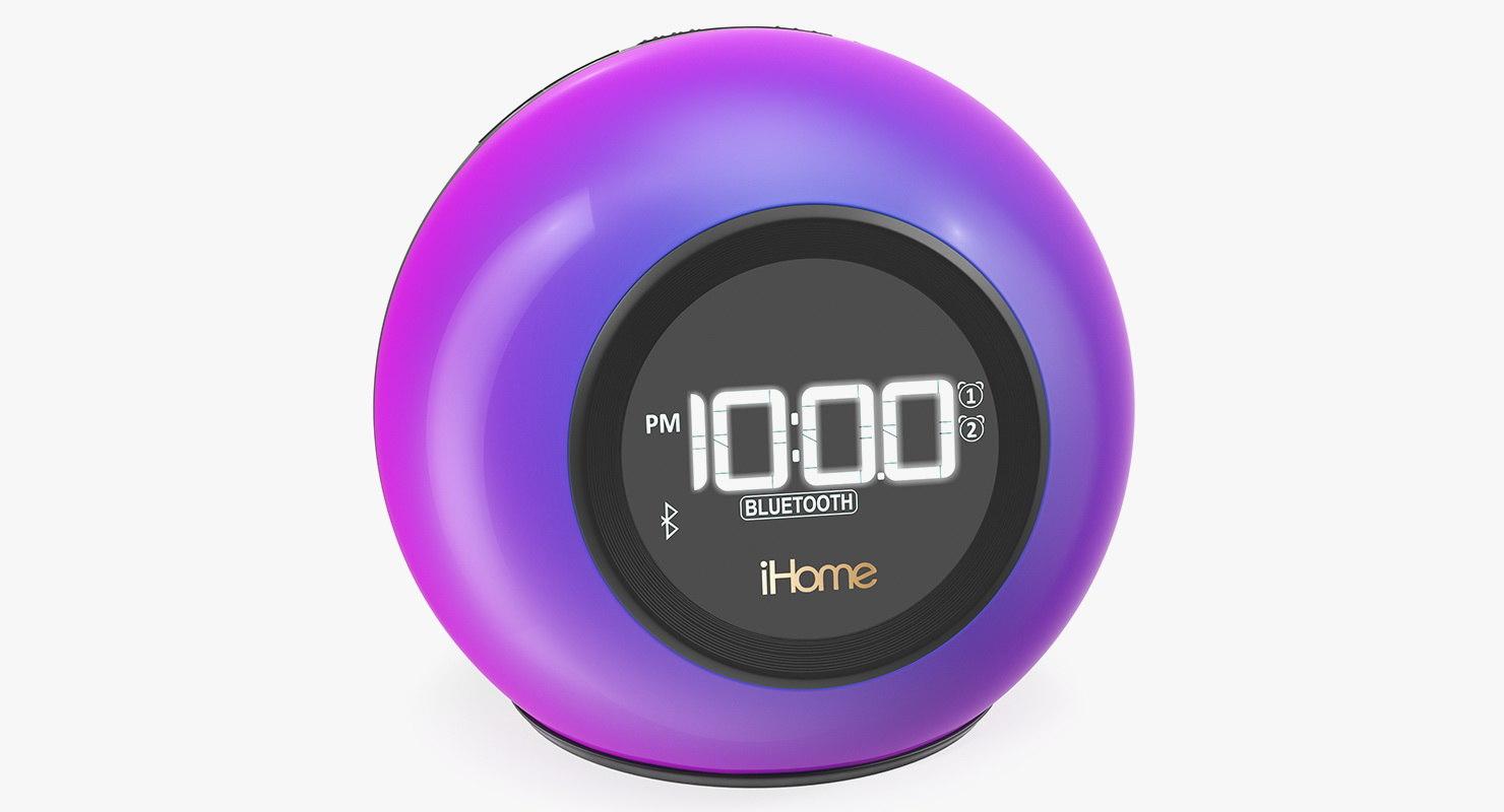 iHome iBT29 Radio Bluetooth Inalámbrico Phaze Radio Reloj