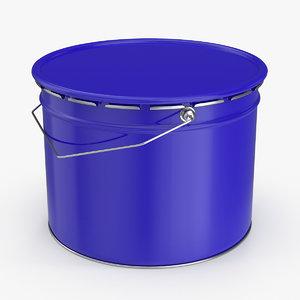 3D metal bucket