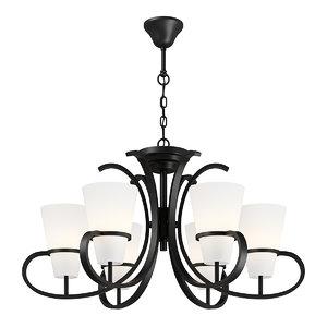 3D model 733067 fiacolla lightstar chandelier