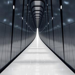 corridor realistic 3D model