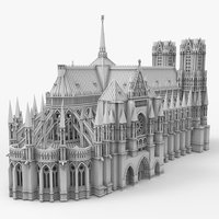 3D printing notre dame cathedral model