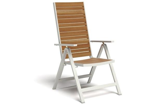 ikea sjalland reclining chair 3D model