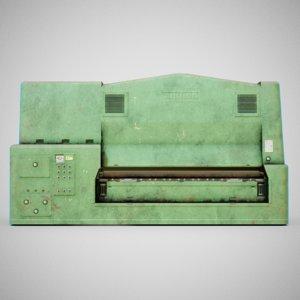 3D sanding machine -