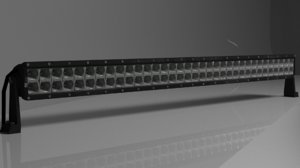 off-road led light-bar 3D