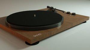 3D modern gramophone