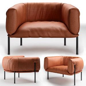 seat molinari rondo 3D model