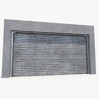 3D electric rolling shutter