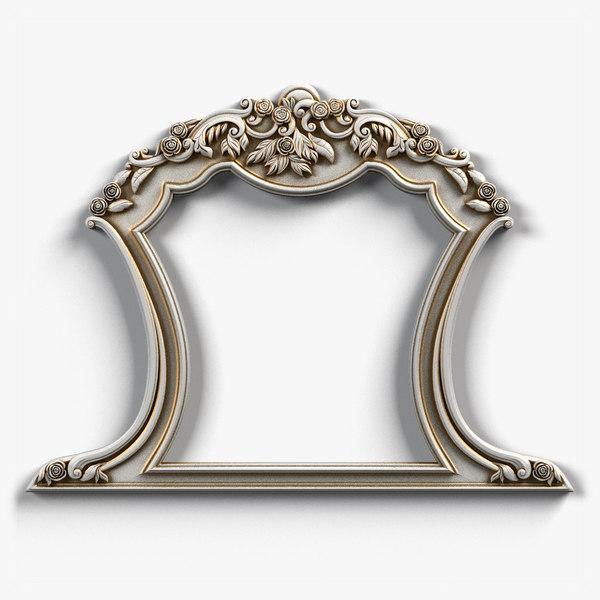 3D frame model