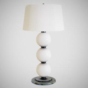 lamp light interior 3D model