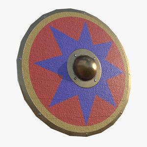 parma shield 3D model