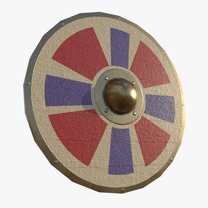 3D parma shield model