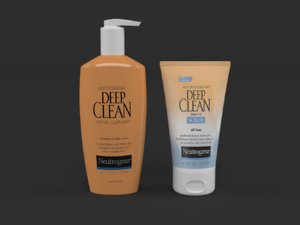 3D neutrogena deep clean daily