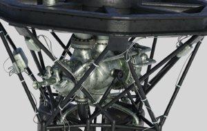 3D engine rocket