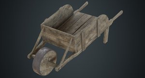 wheelbarrow 3b 3D model