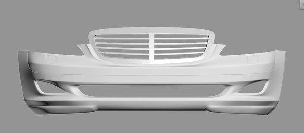 3D model bumper
