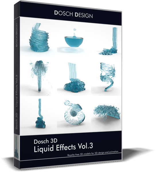 liquid effects vol 3 3D