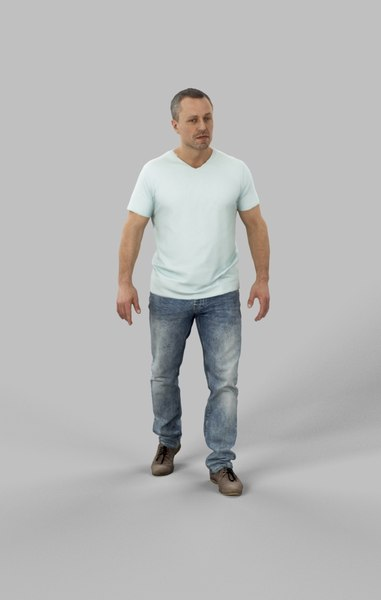 character casual 3D model