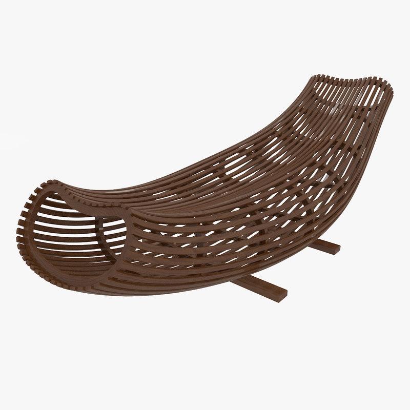 3D designed bench boat