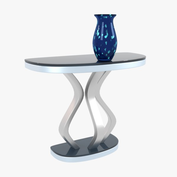 urban console table 3D